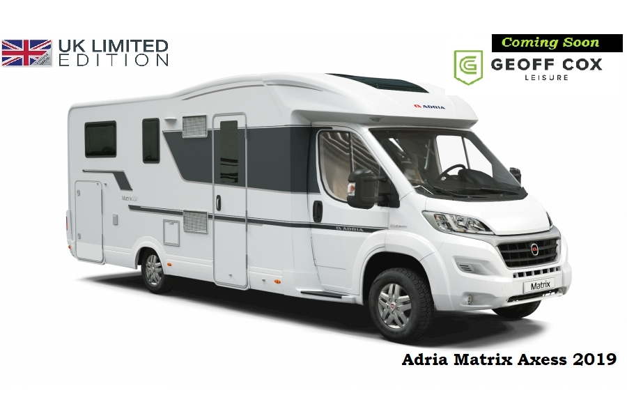 Adria Matrix Axess 670 SL UK Edition 2300 Motorhome Automatic Diesel