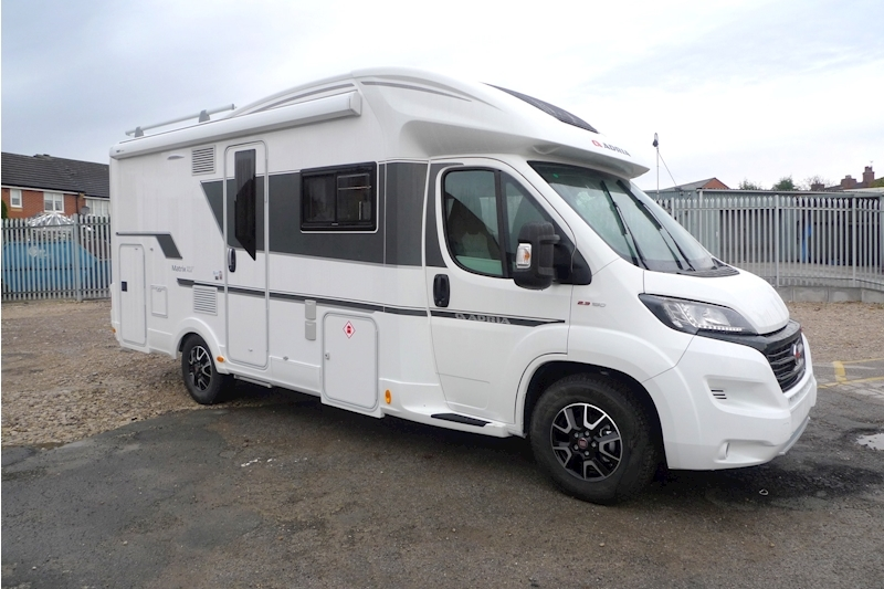 Adria Matrix 600 DT Motorhome 2300 Manual Diesel