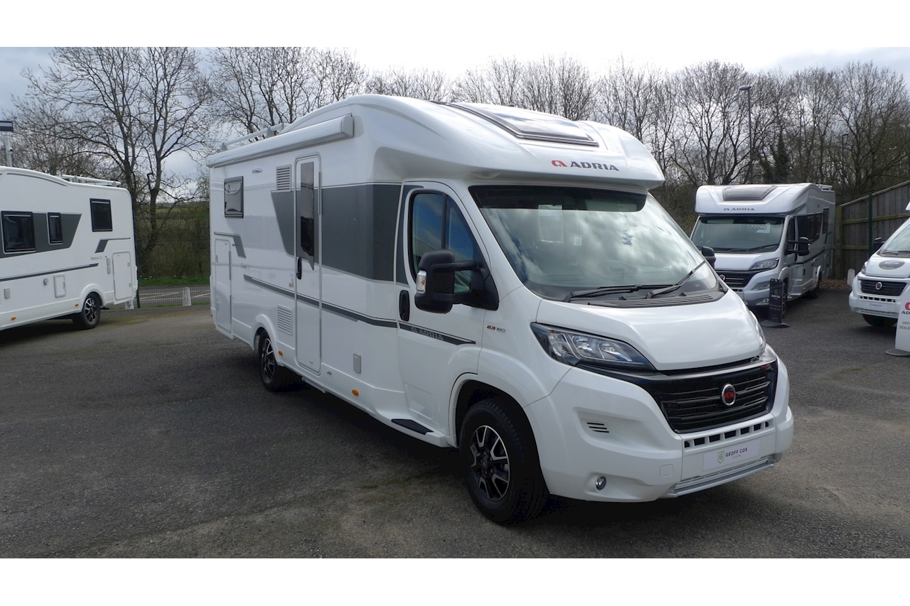 Coral 670 DL Plus Motorhome 2300 Manual Diesel