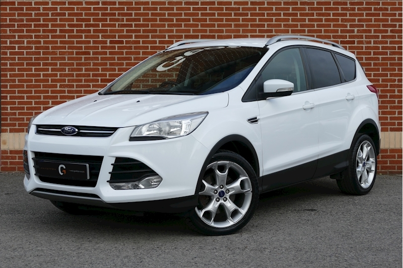 Ford Kuga Titanium Tdci 2.0 5dr Hatchback Manual Diesel