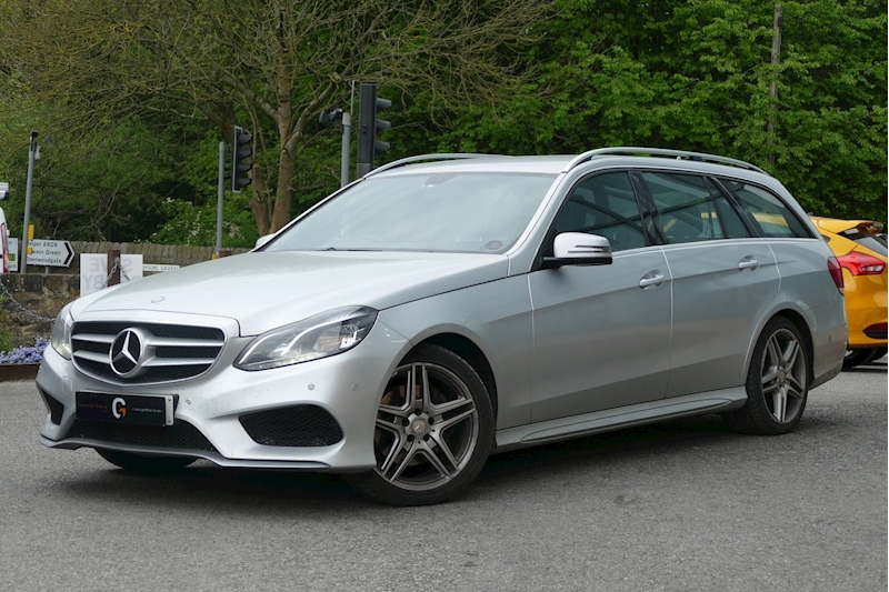 Mercedes-Benz E Class E220 Cdi Amg Sport Estate 2.1 Automatic Diesel