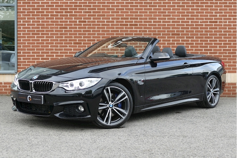 Bmw 4 Series 420D M Sport 2.0 2dr Convertible Automatic Diesel