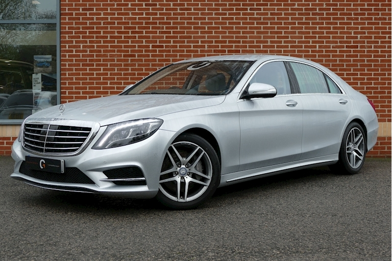 Mercedes-Benz S Class S500 L Amg Line 4.7 4dr Saloon Automatic Petrol