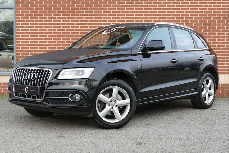 Audi Q5 Tfsi Quattro S Line 2.0 5dr Estate Manual Petrol