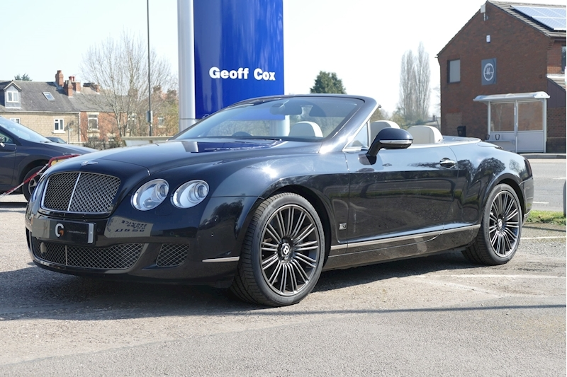 Bentley Continental Gtc Speed Series 51 Convertible 6.0 Automatic Petrol/Alcohol