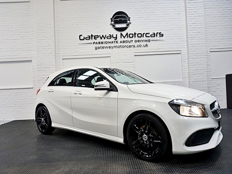 Mercedes A-Class A 180 D Amg Line Hatchback 1.5 Manual Diesel - Large 0