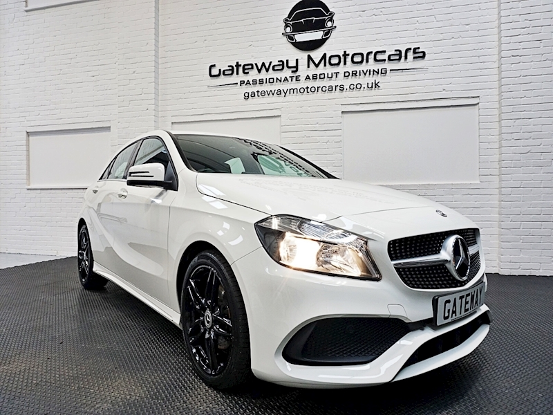 Mercedes A-Class A 180 D Amg Line Hatchback 1.5 Manual Diesel - Large 1
