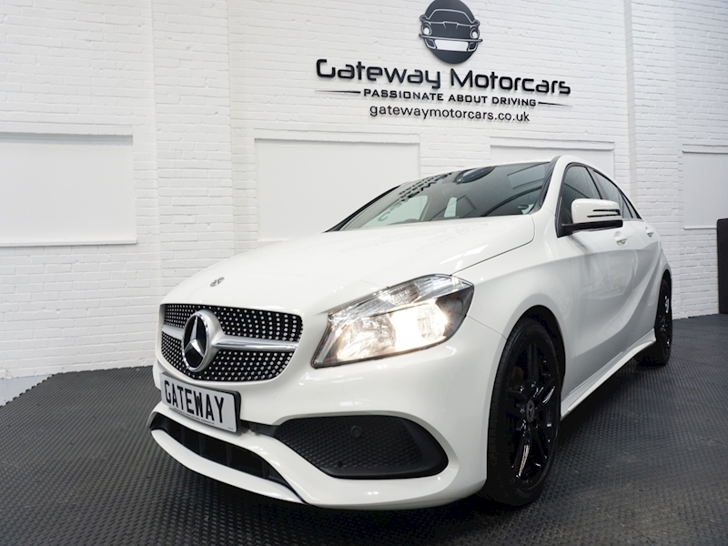 Mercedes A-Class A 180 D Amg Line Hatchback 1.5 Manual Diesel - Large 11