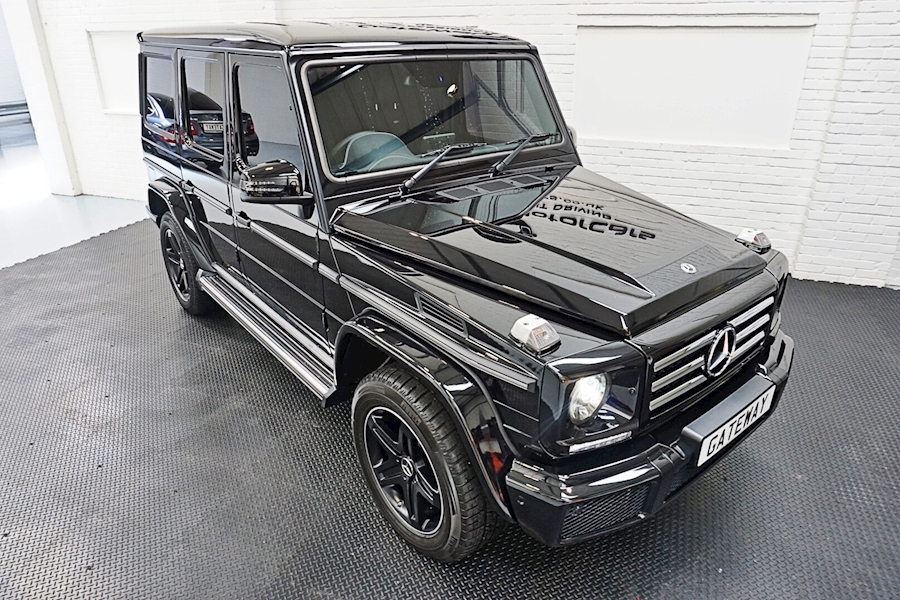 Mercedes-Benz G-Class G 350 D 4Matic Night Edition Estate 3.0 Automatic Diesel - Large 8