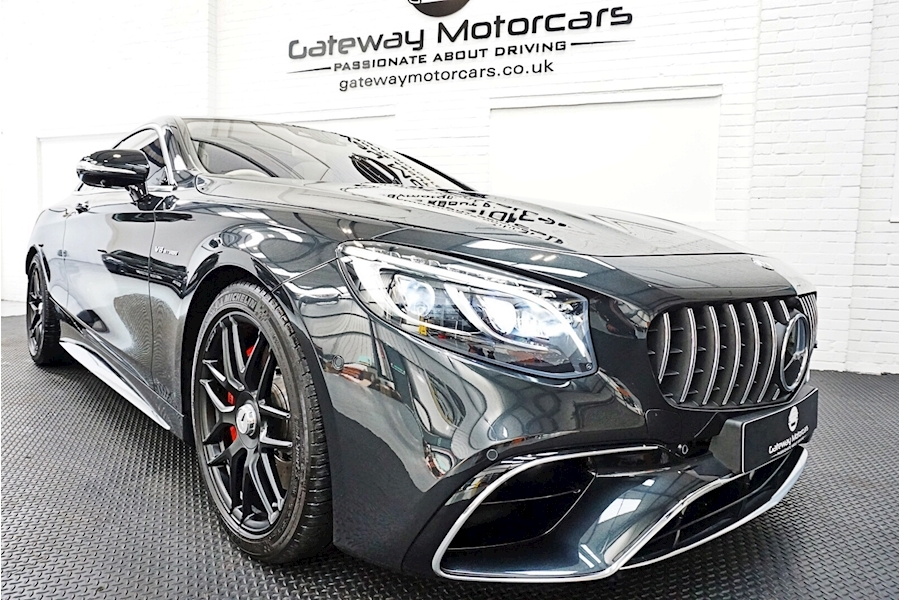 Mercedes-Benz S Class Amg S 63 Coupe 4.0 Automatic Petrol - Large 0