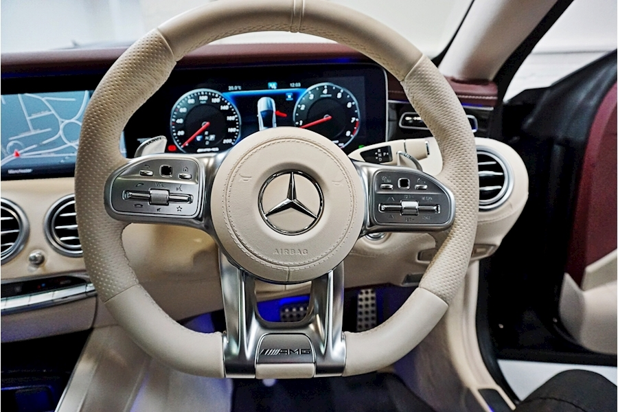 Mercedes-Benz S Class Amg S 63 Coupe 4.0 Automatic Petrol - Large 35