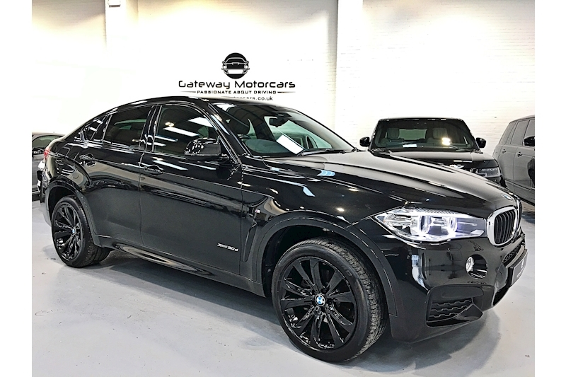 Bmw X6 Xdrive30d M Sport Coupe 3.0 Automatic Diesel - Large 0