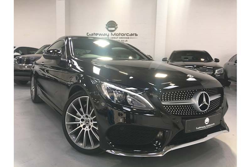 Mercedes-Benz C Class C 200 Amg Line Premium Plus Coupe 2.0 Automatic Petrol - Large 2
