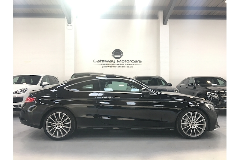 Mercedes-Benz C Class C 200 Amg Line Premium Plus Coupe 2.0 Automatic Petrol - Large 5