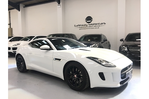 F-Type V6  Coupe 3.0  Petrol