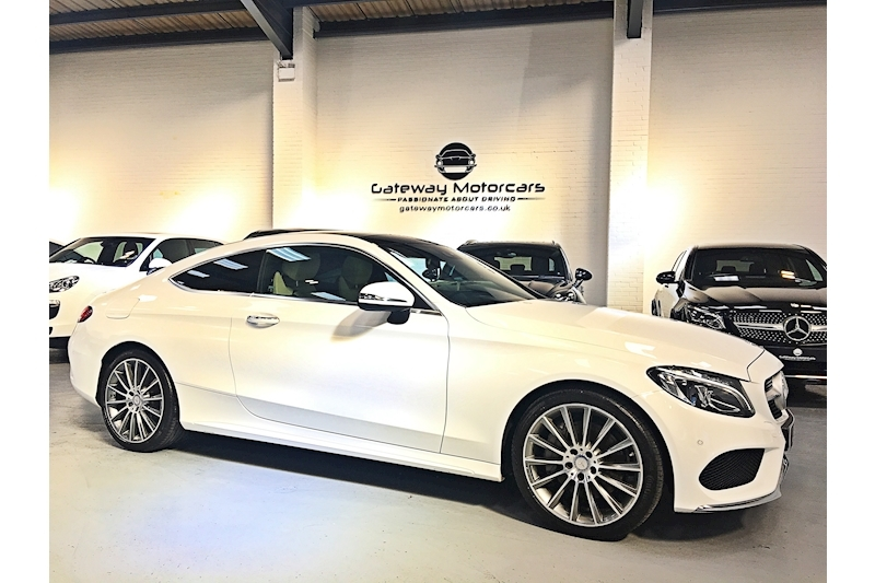 Mercedes-Benz C Class C 250 D Amg Line Premium Plus Coupe 2.1 Automatic Diesel - Large 0
