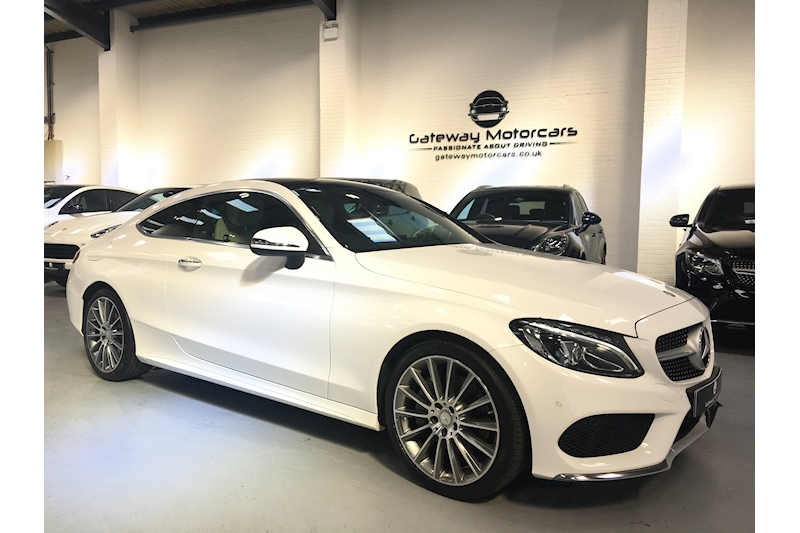 Mercedes-Benz C Class C 250 D Amg Line Premium Plus Coupe 2.1 Automatic Diesel - Large 1