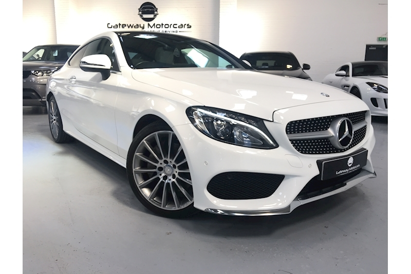 Mercedes-Benz C Class C 250 D Amg Line Premium Plus Coupe 2.1 Automatic Diesel - Large 2