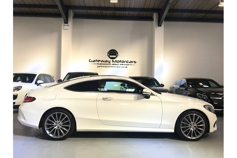 Mercedes-Benz C Class C 250 D Amg Line Premium Plus Coupe 2.1 Automatic Diesel - Large 5