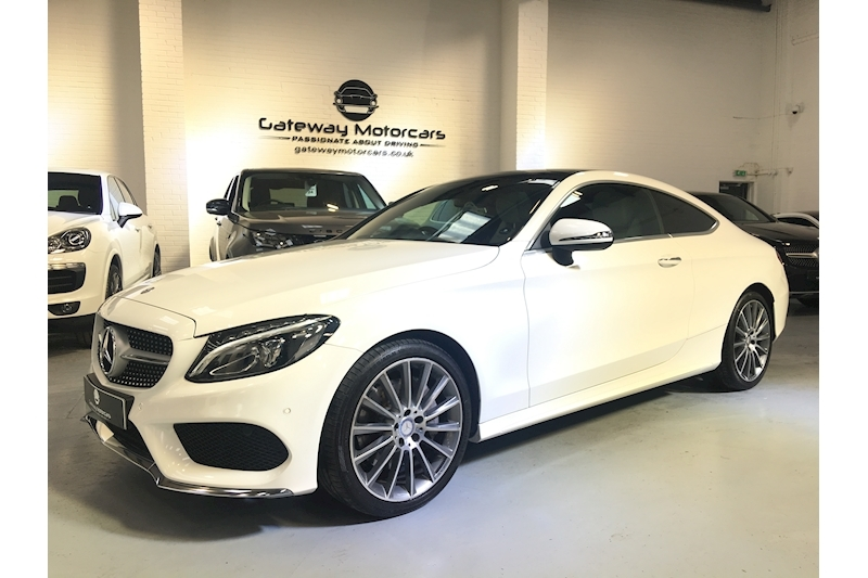 Mercedes-Benz C Class C 250 D Amg Line Premium Plus Coupe 2.1 Automatic Diesel - Large 15