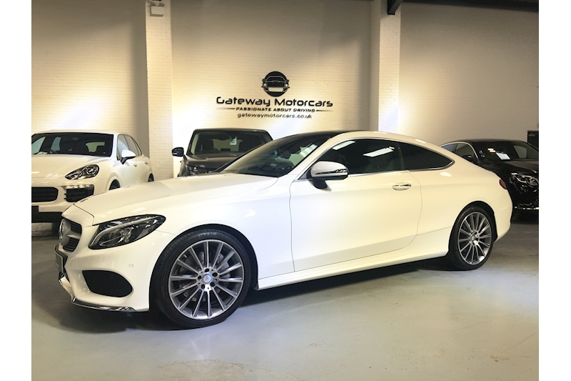 Mercedes-Benz C Class C 250 D Amg Line Premium Plus Coupe 2.1 Automatic Diesel - Large 14