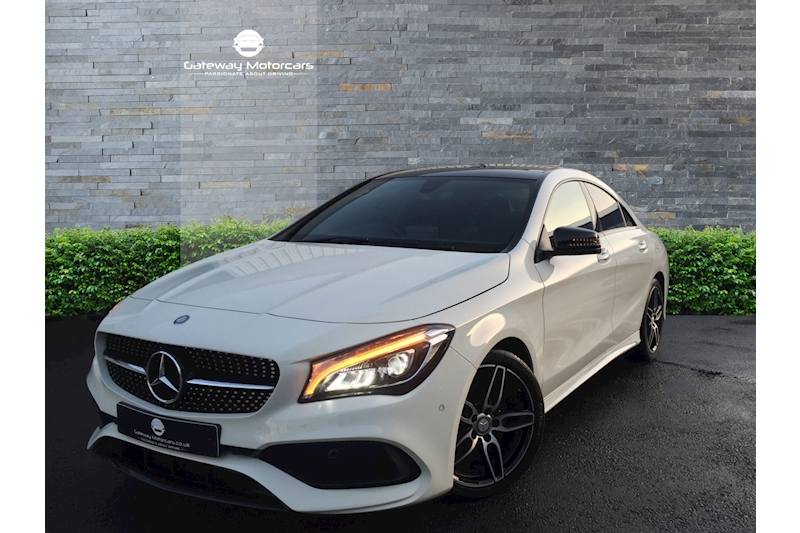 Mercedes-Benz Cla Cla 220 D Amg Line Saloon 2.1 Automatic Diesel - Video