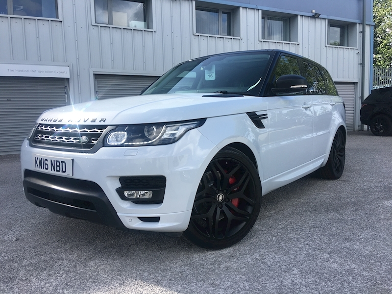 Land Rover Range Rover Sport Autobiography Dynamic 3 5dr SUV Automatic Diesel - Large 0