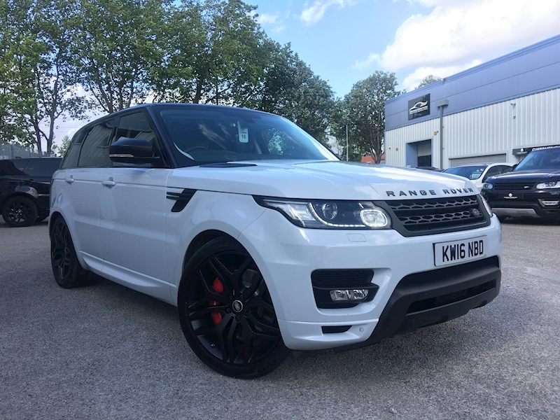 Land Rover Range Rover Sport Autobiography Dynamic 3 5dr SUV Automatic Diesel - Large 1