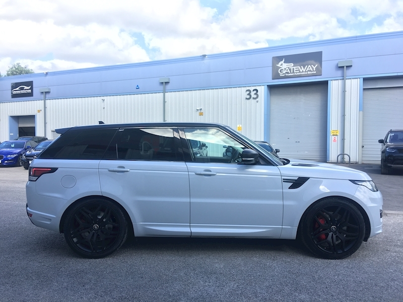 Land Rover Range Rover Sport Autobiography Dynamic 3 5dr SUV Automatic Diesel - Large 3