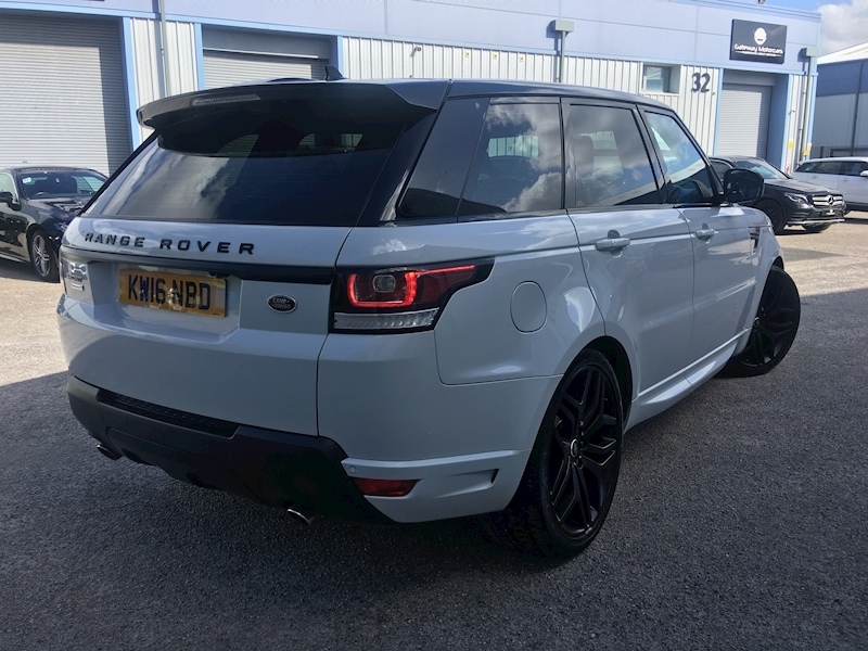 Land Rover Range Rover Sport Autobiography Dynamic 3 5dr SUV Automatic Diesel - Large 5