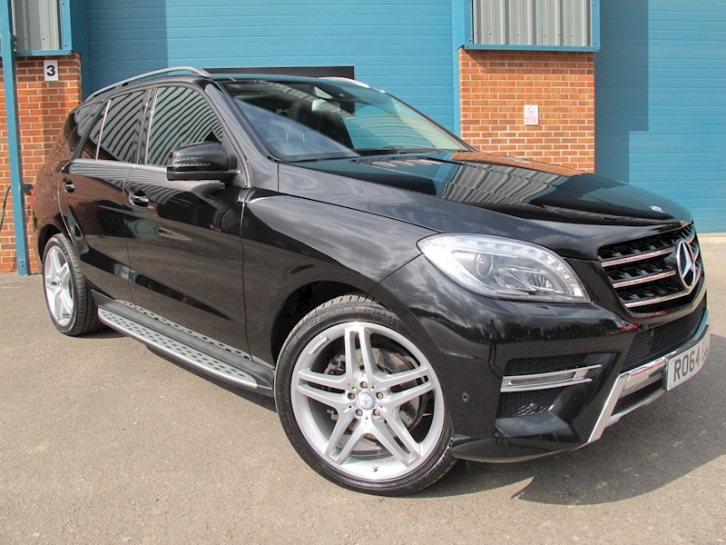 Mercedes M-Class Ml350 Bluetec Amg Line Premium