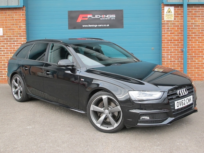 Audi A4 TDI Black Edition