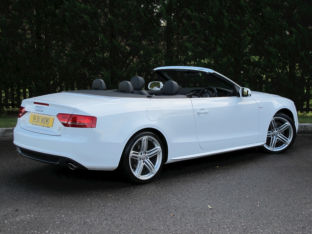 Audi A5 Cabriolet 3.0TDI S Line quattro S-Tronic 3.0 2dr Cabriolet S Tronic Diesel