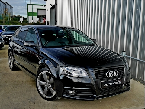Audi A3 Sportback Tdi S Line Black Edition 2.0 5dr Hatchback Manual Diesel