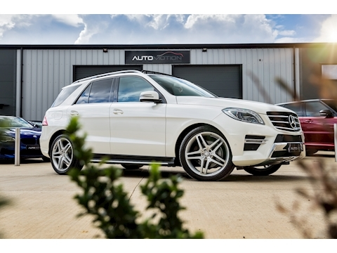Mercedes-Benz Ml350 Bluetec Amg Line Premium Plus Estate 3.0 Automatic Diesel