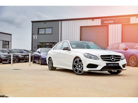 Mercedes-Benz E220 AMG Night Edition Premium 2.1 4dr Saloon 7G-Tronic Plus Diesel