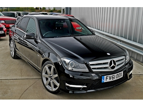 Mercedes C350 Cdi Blueefficiency Sport Ed125 Saloon 3.0 Automatic Diesel
