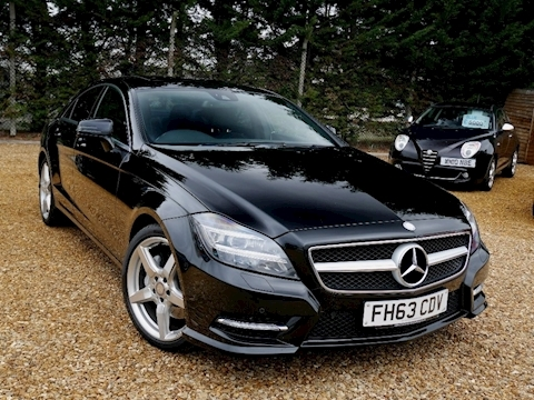 Mercedes Cls Cls350 Cdi Blueefficiency Amg Sport Coupe 3.0 Automatic Diesel