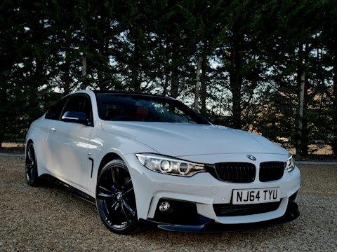 Bmw 4 Series 420I M Sport 2.0 2dr Coupe Automatic Petrol (M Performance Pack)
