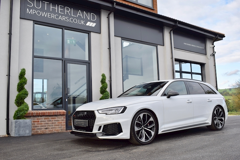 RS4 Tfsi Quattro Audi Sport Edition Estate 2.9 Automatic Petrol