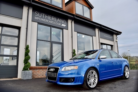 RS4 Rs4 Quattro Saloon 4.2 Manual Petrol