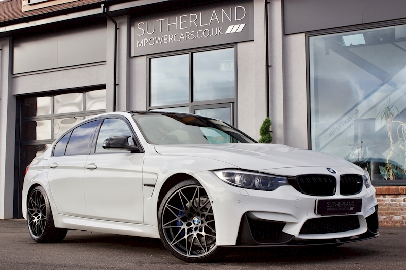 M3 M3 Competition Package Saloon 3.0 Semi Auto Petrol