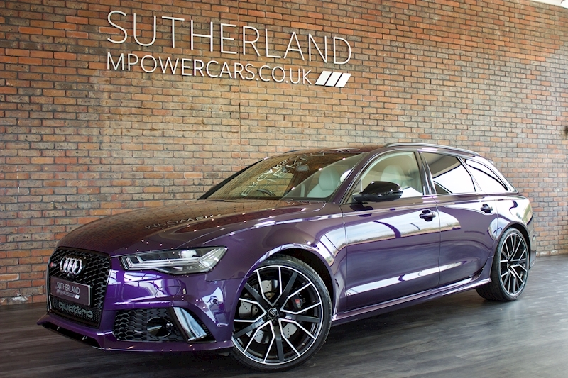 RS6 Rs6 Plus Avant Tfsi Quattro Estate 4.0 Automatic Petrol