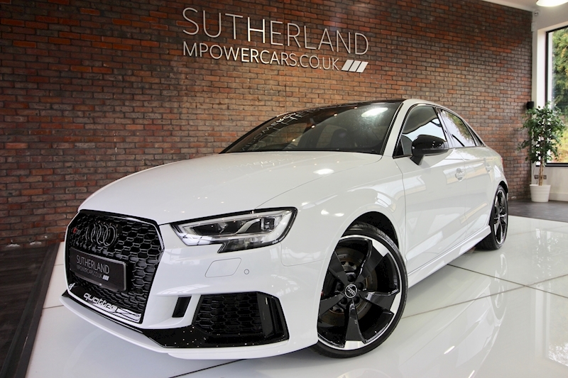 RS3 Sport Edition Quattro Saloon 2.5 S-Tronic Petrol