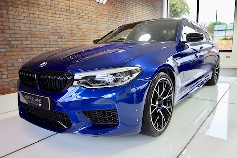 M5 Competition Saloon 4.4 Steptronic Petrol