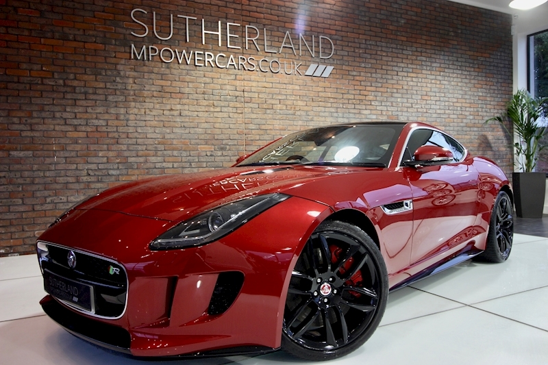 F-Type R Coupe 5.0 Quickshift Petrol