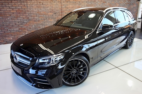 3.0 C43 V6 AMG Edition (Premium Plus) Estate 5dr Petrol G-Tronic+ 4MATIC (s/s) (390 ps)