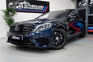 S Class S63 Amg L Saloon 5.5 Automatic Petrol