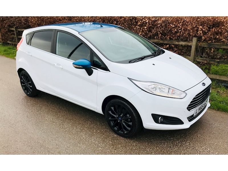 Fiesta Zetec White Edition Spring Hatchback 1.2 Manual Petrol