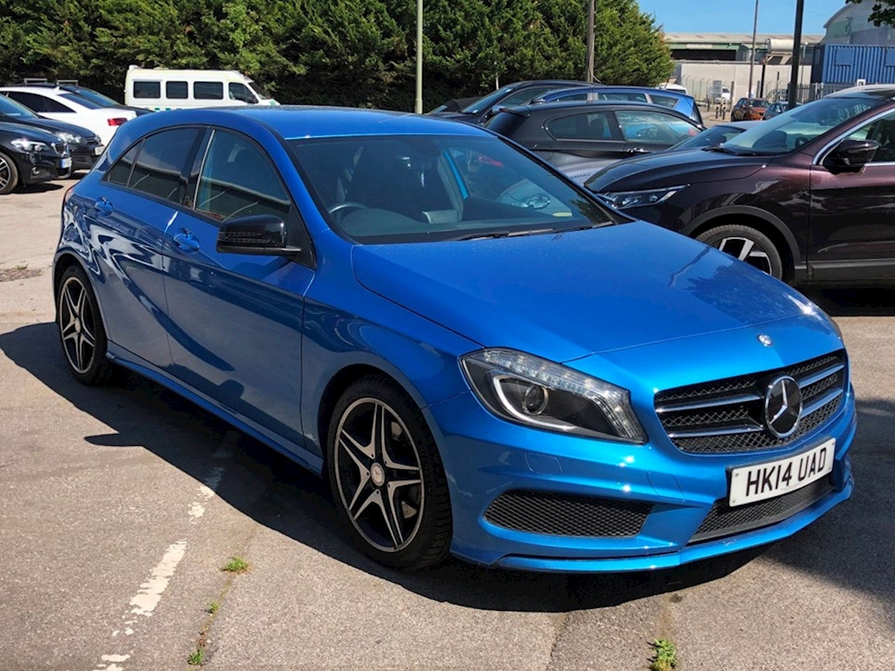 Mercedes-Benz A-Class A220 Cdi Blueefficiency Amg Sport